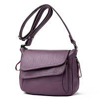 Износостойкая Женская сумка на плечо KAVARD   2 Цвета! Фиолетовый