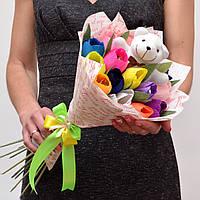 Букет из конфет / Букет з цукерок / Вкусный бодарок / Сладкий подарок / Съедобный букет / букет из игрушек