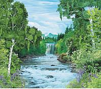 Фотообои Лесная увертюра 242х268 Artdecor Водопад 2000000450636