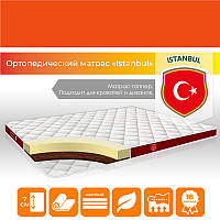 """Жесткий ортопедический матрас-топпер """"Istanbul"""" р. 90х190 см на кровать, диван (h 7 см)"""