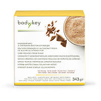 Кремовый микс со вкусом шоколада, пониженное содержание углеводов bodykey