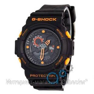 Часы Casio GA-300 Black/Orange