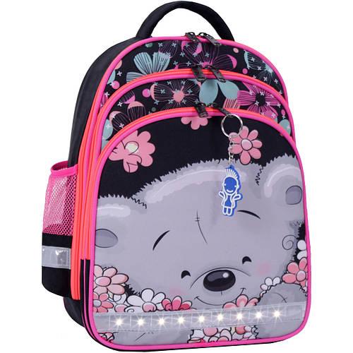 a83e39d55726 Рюкзак школьный ортопедический Bagland Mouse для девочки мишка черный  розовый: продажа, цена в Харькове. рюкзаки и портфели школьные от