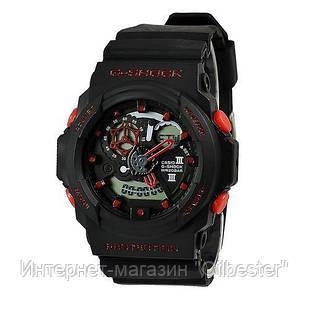 Часы Casio G-Shock GA 300 Black-Red