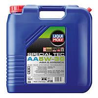 Синтетическое моторное масло - special tec аа 5w-30   20 л.