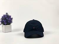 Кепка бейсболка Tommy Hilfiger (темно-синяя)