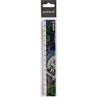 Линейка пластиковая Kite Racing K19-090-4, 15 см