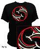 Трипольская футболка с авторской вышивкой