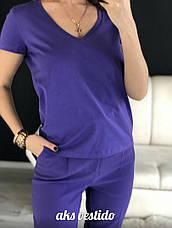 Женская коттоновая футболка , фото 3