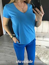 Женская коттоновая футболка , фото 2