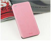 Кожаный чехол книжка MOFI для HTC Desire Eye розовый