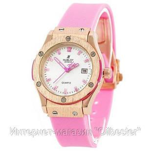 Часы женские Hublot розовые