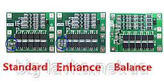 BMS Плата защиты 4s 40А Li-ion 18650 стандартная версия