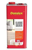 Domalux Classic Silver лак паркетний НАПІВМАТ б/барвний 5л PL, фото 1