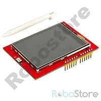 "LCD TFT сенсорный дисплей 2.4"" для Arduino Uno R3"