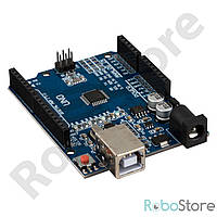Отладочная плата Arduino Uno Rev3 (ch340) (Ардуино)