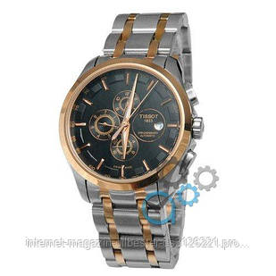 Tissot T-Classic Couturier Automatic Steel Silver-Gold-Gold-Black