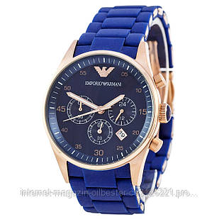 Часы мужские Emporio Armani AAA синие