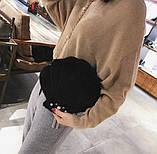Черная сумочка Ракушка, фото 2