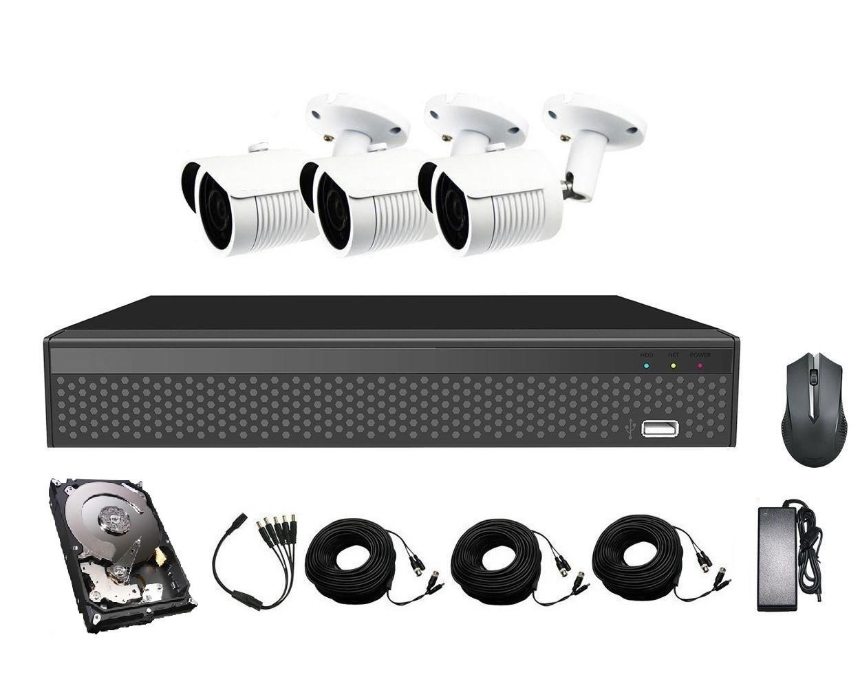 Комплект видеонаблюдения CoVi Security AHD-3W 5MP MasterKit + HDD500