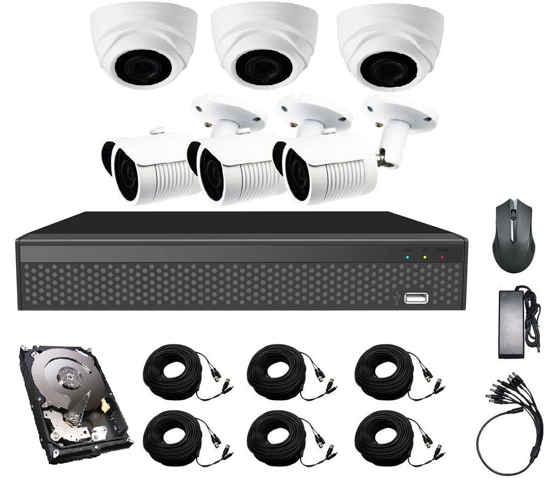Комплект видеонаблюдения CoVi Security AHD-33WD 5MP MasterKit + HDD1000