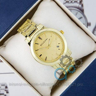 Часы женские Bvlgari золотистые
