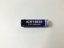 Аккумулятор батарея ICR 18650 6000 mAh 3.7V (hub_np2_0503)