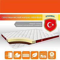 """Жесткий ортопедический матрас-топпер """"Istanbul"""" р. 190х80 см тонкий на кровать, диван (h 7 см)"""