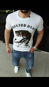 Мужская футболка Philipp Plein Приталенный крой, приятный к телу материал. Размеры S-3XL