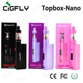 Электронная сигарета Kangertech Topbox nano 60W (черный, розовый ,фиолетовый), фото 2