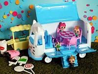 Игровой набор LOL Кукла лол автобус с мороженым