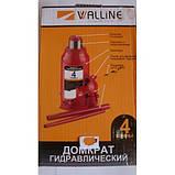 Домкрат пляшковий гідравлічний 4т Walline, фото 10