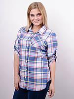 399ac57ae4a Женские рубашки в клетку большие размеры в Украине. Сравнить цены ...