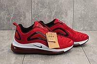 Мужские летние кроссовки в стиле Nike Air Max 720 красного цвета
