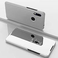 Чехол Mirror для Xiaomi Redmi Note 7 / Redmi Note 7 Pro книжка зеркальная Silver