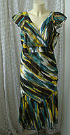 Платье женское летнее легкое сарафан бренд Moda George р.48, фото 1