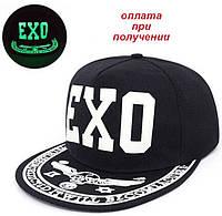 Мужская чоловіча кепка бейсболка реперка козырек Snapback EXO