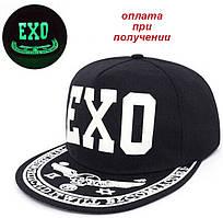 Чоловіча чоловіча кепка бейсболка реперка козирок Snapback EXO