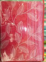 Постельное белье двуспальное евро красного цвета