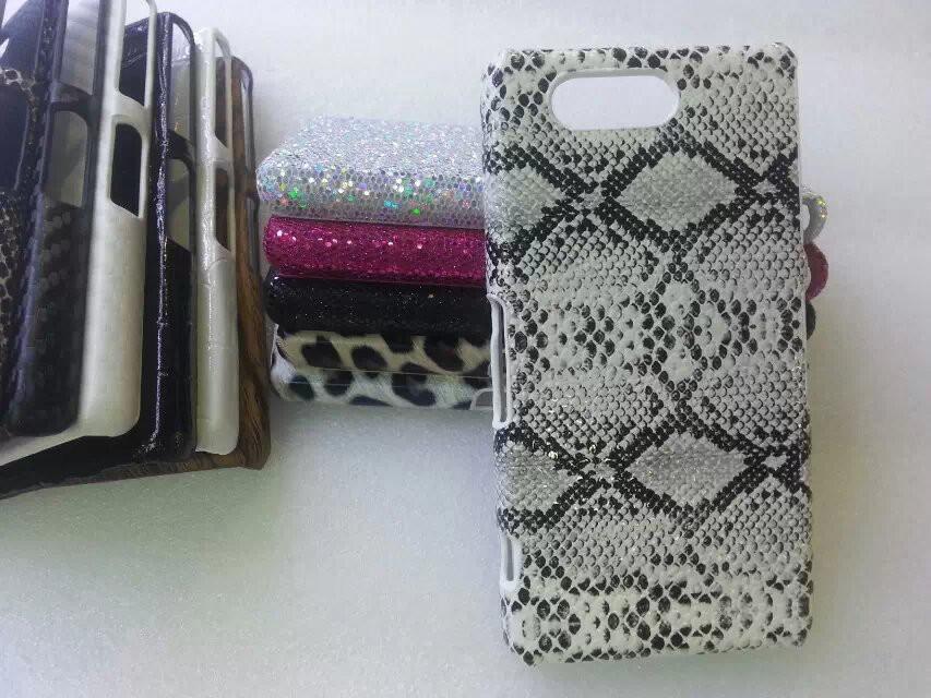 "SONY Z3 mini compact D5803 XPERIA чехол панель бампер накладка для телефона с фактурный обтянутый ""LS 300"""