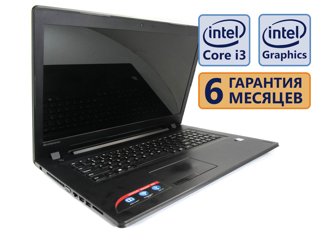Ноутбук Lenovo Ideapad 300-17Sik 17.3 (1600x900) / Intel Core i3-6100U (2x2.3GHz) / RAM 4Gb / SSD 120Gb / АКБ 2 ч. / Сост. 9/10 БУ