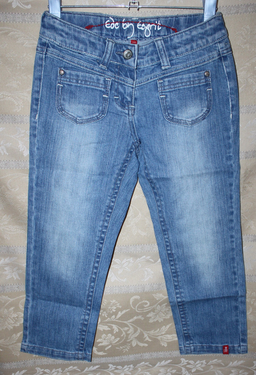 Капри летние Esprit  джинсовые для девочки.