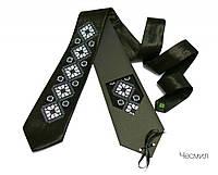 """Атласный галстук с вышивкой """"Чесмил"""", фото 1"""