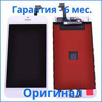 Original дисплей APPLE IPHONE 6 + Сенсор (тачскрин) / Экран на Айфон 6 белый (LCD Original), Original дисплей iPhone 6 білий (LCD екран, тачскрін,