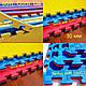 """Модульное напольное покрытие для спортивных залов ТАТАМИ """" Ласточкин хвост"""" 40 мм., фото 2"""