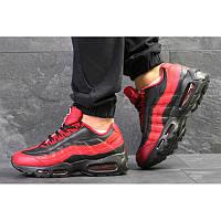 4940e1e8 Мужские кроссовки Nike Air Max 95 OG красные с черным р.41 Акция -48