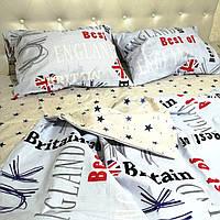 """Комплект постельного белья двуспальный бязь """"Звездная Англия"""", фото 1"""
