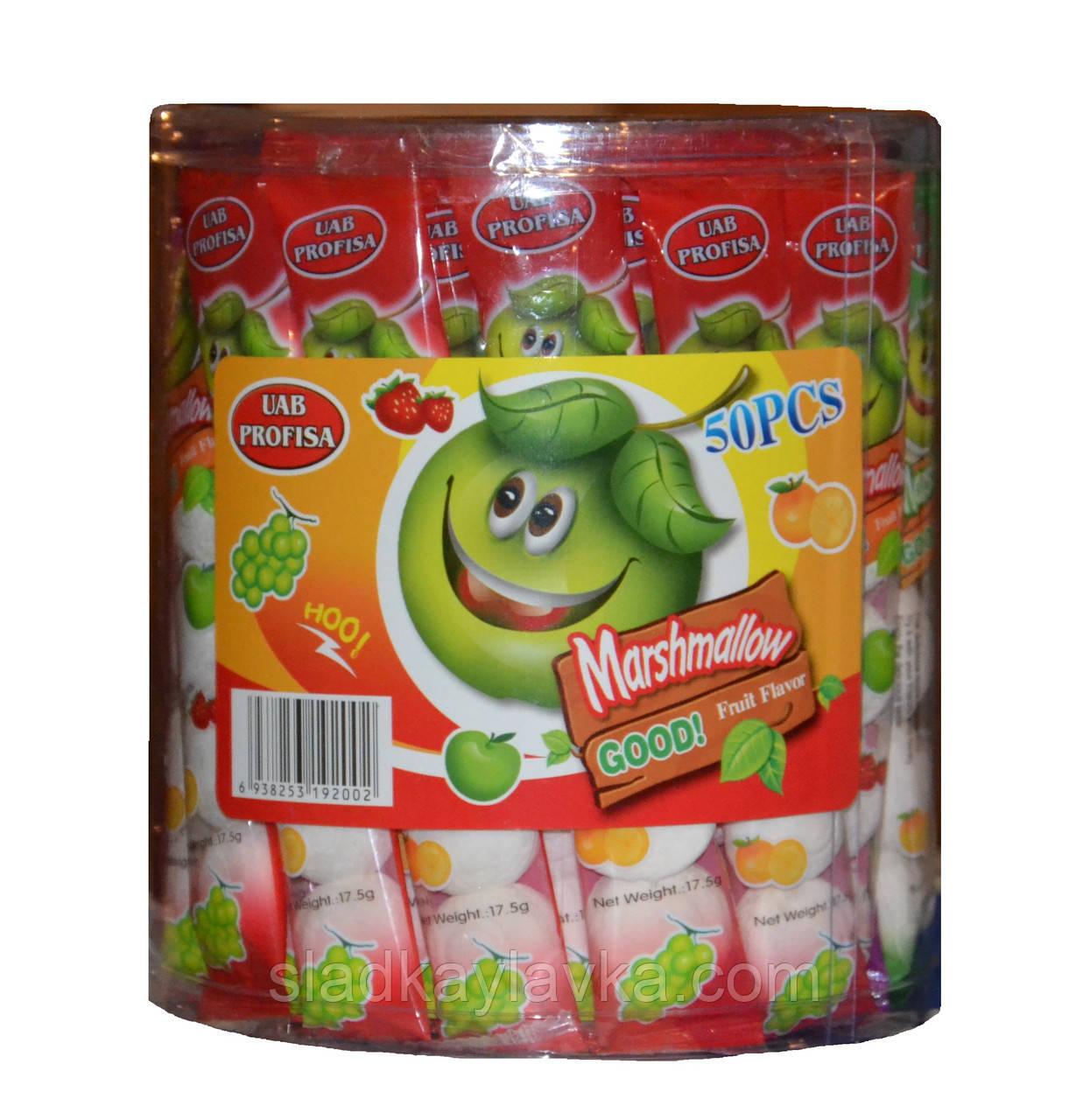 Жевательная конфета Зефир 50 шт (Китай)