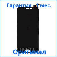 Оригинальный дисплей Meizu M3 Note (L681H) черный (LCD экран, тачскрин, стекло в сборе), Оригінальний дисплей Meizu M3 Note (L681H) чорний (LCD екран,