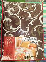 Постельное белье семейное GOLD шоколадный вензель